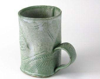 Frosty Caribbean Salvage Textured Mug