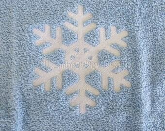 SnowFlakes 22 Embroidery Design - 2 Sizes