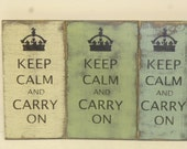 KEEP CALM and CARRY on / keep calm sign / carry on crown sign / hand painted sign / carry on sign / keep calm carry on / home decor / sign