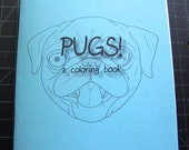 Mini Pug Coloring Book