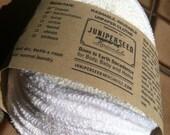 Bamboo Terry Alternative to Disposable Facial Poufs - 12 Fleece Rounds Plus BONUS Wash Bag