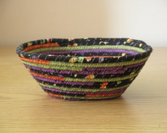 Halloween Coiled Bowl (HCBC)