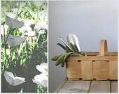 Vintage Produce Basket, Farmer's Market Basket, Gathering Basket, Home Decor, Gardening