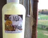 GOAT MILK BUBBLY Wash 8 oz Bottle with Pump