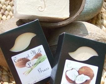 COCONUT LEMON GRASS Coconut Milk with Kaolin Clay