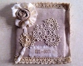 Handmade Coaster of Linen