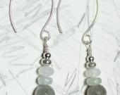 Mist rising earrings