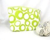 Zipper Bag, Small - Lime Cassis