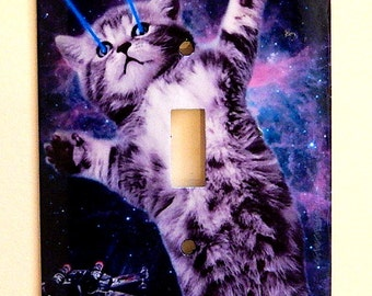 Cats in Space Switchplate
