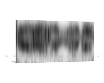 Large Wall Art, Black and White, Abstract Art, Contemporary Art, Modern Art, Canvas Wrap, Gallery Wrap, Panorama Art, Giclee Canvas Print