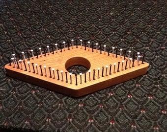 4 Inch Cherry Diamond Mini Loom