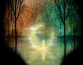 Lake of the Fallen Moon Print