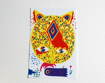 Leaping Cat sticker