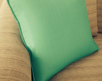 Indoor outdoor mint green cover pillow case decorative