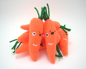 Pirate Carrot Catnip Cat Toy