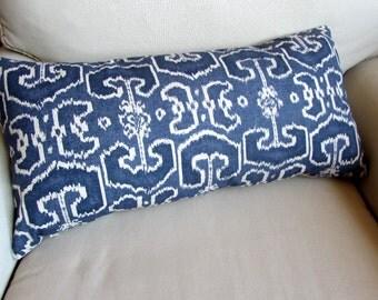BENGALI BLUE pillow 13x26