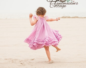The Handmaiden's Cottage Swing Dress sizes 6 months through size 8!