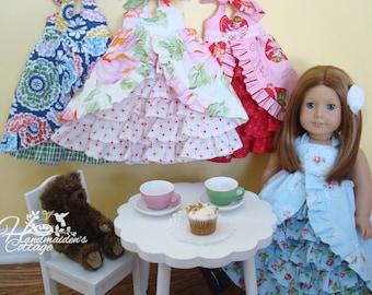 Tea Party Dolly Dress PDF PATTERN
