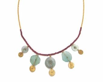 Gold Specks Necklace