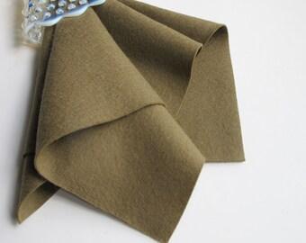 Mushroom, Wool Felt Fabric, 100% Wool, Choose from Three Sizes, Washable Felt, 1mm Thick Felt, Brown Felt, Wool Applique, Toy Pattern Felt