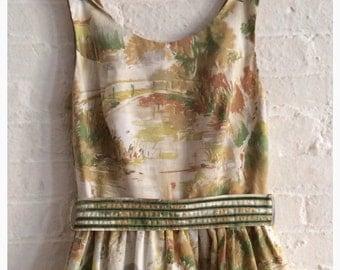 Spring Tea Dress {Chiba } size 4-6
