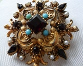 Ornate Victorian-style Brooch REDUCED PRICE