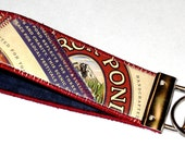 Wristlet KeyChain from Recycled Deschutes Mirror Pond Pale Ale Beer Labels