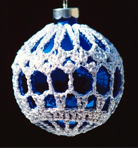Book Cover Crochet S : Crochet christmas ornament covers pdf pattern from book