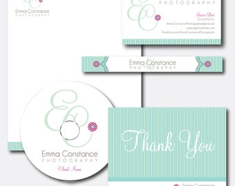 Custom Logo Design PLUS Choose 5 extra items - Photography Logo Package - Business Branding
