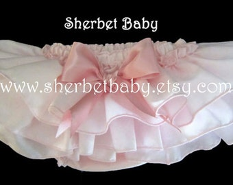 Pink Ruffle Diaper Cover Panty Bloomer Sassy Pants
