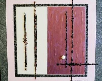 Art...Acrylic...Mixed media...Painting...Pearl...contemporary modern art...