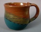 Stoneware Pottery Coffee Mug 12 oz.