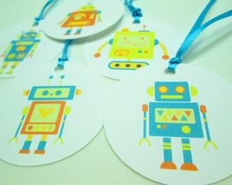 Robot Gift Tags