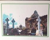 St. Patrick's Day Irish Photo Art Notecard