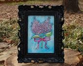 Lilac No. 1 Original by Cora Rountree