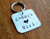 READY TO SHIP: Daddy's Girl - Pet Tag - Gifts for Pets - Father's Day Gift from Dog - New Puppy Gift - Handmade Dog Tag - Aluminum, Metal