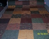 48 x 76 Flannel Squares Throw