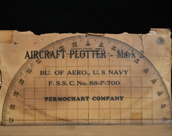 Vintage Aircraft Plotter