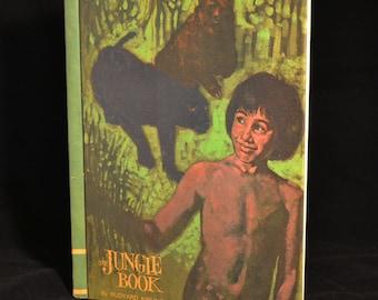"""Vintage 1960s """"The Jungle Book"""" by Rudyard Kipling"""