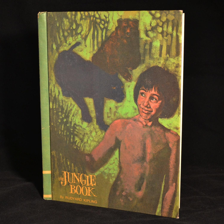 Vintage 1960s The Jungle Book By Rudyard Kipling