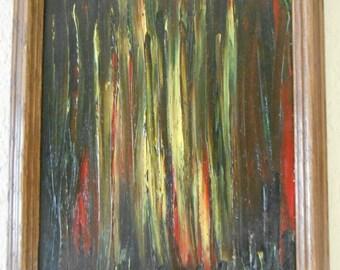 darkfire / oil on canvas