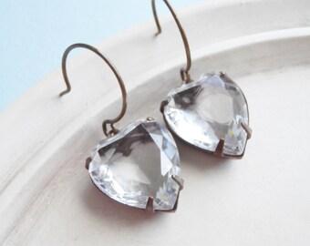 Valentine Jewelry - Vintage Heart Earrings