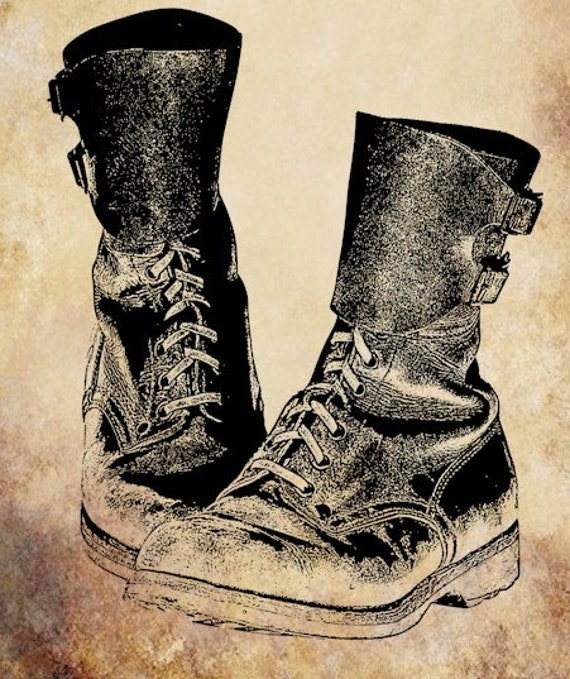 clipart of military boots - photo #18