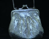 Vintage Whiting and Davis Cocktail Purse