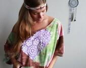 Heart Patch Tie Dye Pink ...