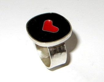 Happy Heart Ring