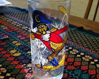 1977 Captain Crook McDonald's Glass