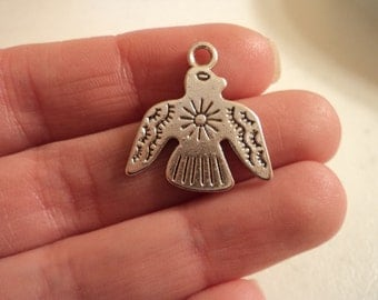 Thunderbird Charm - Set of 10 - #T108
