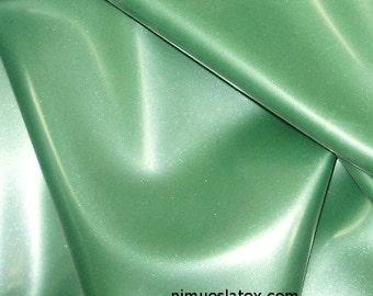 Metallic Green Latex Sheeting, .40mm gauge