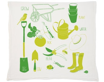 Garden Tea Towel